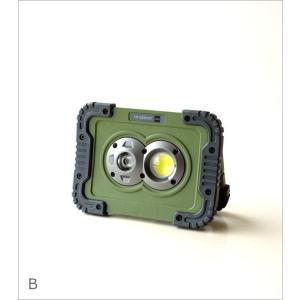 LEDライト ワークライト 電池式 屋外 屋内 磁石 マグネット 壁掛け スタンド 手持ち 防水 防塵 耐衝撃 軽量 防災 小型 ポータブルLEDワークライト3カラー|gigiliving|08