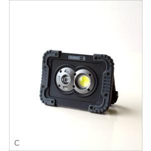 LEDライト ワークライト 電池式 屋外 屋内 磁石 マグネット 壁掛け スタンド 手持ち 防水 防塵 耐衝撃 軽量 防災 小型 ポータブルLEDワークライト3カラー|gigiliving|09