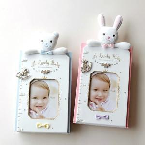 フォトフレーム 身長計 壁掛け 赤ちゃん ベビー 子供 幼児 写真 成長記録 かわいい 贈り物 プレゼント ベビー身長計2カラー|gigiliving