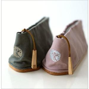 ペンケース おしゃれ 帆布 木製 日本製 かわいい シンプル 仕切り 帆布とウッドのペンケース2カラー gigiliving 03