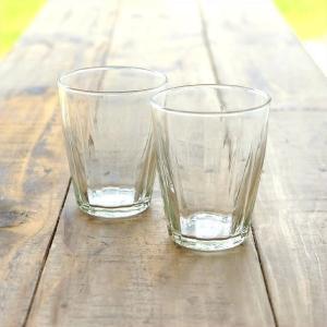 ガラスコップ セット おしゃれ リューズガラス カップ グラス タンブラー ワイズラインタンブラールントL 2個セット|gigiliving