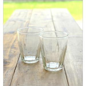 ガラスコップ セット おしゃれ リューズガラス カップ グラス タンブラー ワイズラインタンブラールントL 2個セット|gigiliving|02