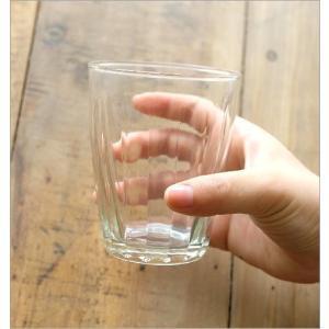 ガラスコップ セット おしゃれ リューズガラス カップ グラス タンブラー ワイズラインタンブラールントL 2個セット|gigiliving|04