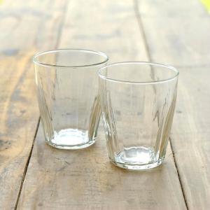 ガラスコップ セット おしゃれ リューズガラス カップ グラス タンブラー ワイズラインタンブラールントS 2個セット|gigiliving