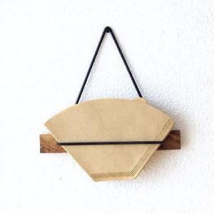 シーシャムウッドのキッチン小物シリーズ シンプルなデザインでスタイリッシュ coffeeフィルターの...