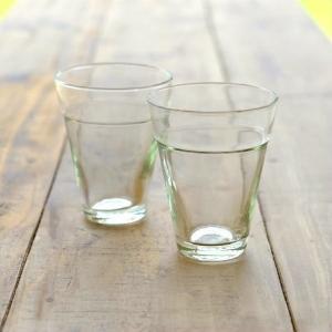 ガラスコップ セット おしゃれ リューズガラス カップ グラス タンブラー ステップタンブラートールS 2個セット|gigiliving