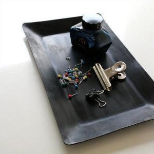 コイントレー 鉄製 ペントレー 卓上トレイ キャッシュトレイ インテリア アイアンシンプルトレイ|gigiliving