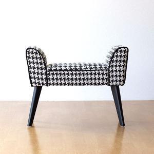 スツールベンチ スリム クッションチェア ソファチェア ベンチチェア 玄関ベンチ 玄関椅子 おしゃれ 布張り もっとスリムなスツールベンチ Chidori|gigiliving