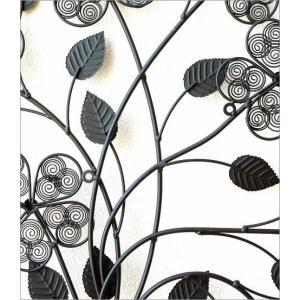 壁飾り アイアン アートパネル 植物 花 フラワー ウォールデコ 壁掛け インテリア おしゃれ アンティーク風 かわいい カフェ アイアンの壁飾り フラワーベース|gigiliving|05