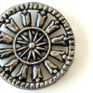 鍋敷き 鍋しき おしゃれ デザイン 鋳物 鉄 ポットスタンド アイアンミニ鍋しき B|gigiliving