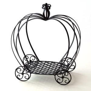 花台 アイアン フラワースタンド 鉢スタンド 鉢置き台 かぼちゃ かわいい おしゃれ プランターラック プランタースタンド パンプキンプラントホルダー|gigiliving