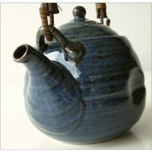 土瓶 急須 きゅうす おしゃれ 美濃焼き 日本製 青万葉土瓶|gigiliving|04