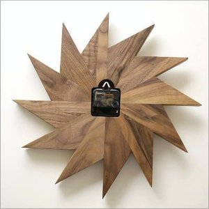 壁掛け時計 掛け時計 掛時計 壁掛時計 おしゃれ 木製 ウッドウォールクロック ウィンドウ|gigiliving|05