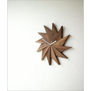 壁掛け時計 掛け時計 掛時計 壁掛時計 おしゃれ 木製 ウッドウォールクロック ウィンドウ|gigiliving|06
