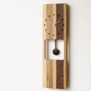 壁掛け時計 掛け時計 掛時計 壁掛時計 木製 おしゃれ 振り子時計 振子時計 シンプル ウッドウォールクロック オルロージュA|gigiliving