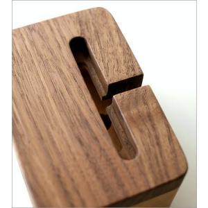 スマホスピーカー スマートフォンスピーカー 木製 スマホスタンド 充電しながら 置くだけ シンプル おしゃれ iPhone7、iPhone6対応 ウッドスマホスピーカー|gigiliving|03
