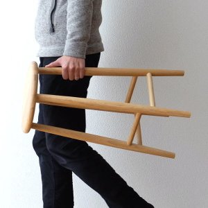 スツール 木製 椅子 おしゃれ 丸椅子 無垢 天然木 キッチンスツール カウンターチェア 高さ60cm ナチュラルウッドのハイスツール オーク|gigiliving
