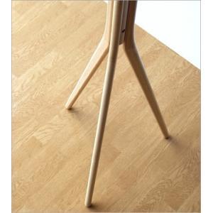 コートハンガー 木製 ナチュラル 北欧 コート掛け コートスタンド 天然木 ウッド おしゃれ シンプル モダン 玄関 スタイリッシュコートハンガー|gigiliving|04