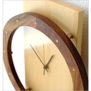 壁掛け時計 壁掛時計 掛け時計 掛時計 振り子 木製 おしゃれ 天然木 無垢 文字盤なし デザイン カフェ モダン ナチュラル ウォールクロック振り子 ビーチ|gigiliving|04