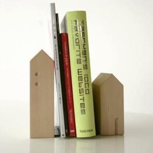 本立て 本立 ブックスタンド 木製 おしゃれ 天然木 インテリア ナチュラルウッドのブックエンド A gigiliving