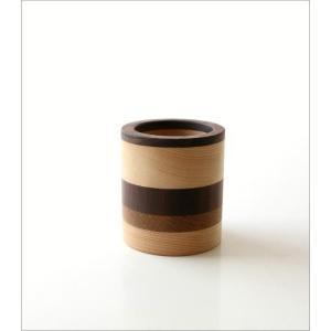 ペン立て 木製 ペンスタンド おしゃれ 天然木 無垢 シンプル かわいい 鉛筆立て リモコンスタンド メガネスタンド ナチュラルウッドのペンたて モザイク2タイプ|gigiliving|04