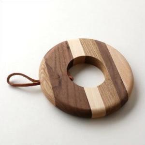 鍋敷き 鍋敷 おしゃれ 木製 木の鍋敷き サークルA|gigiliving