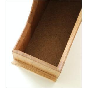 ファイルボックス A4 おしゃれ 木製 無垢材 ファイルラック タテ型 縦型 ファイル収納 卓上 机上 書類整理 ナチュラルウッドのファイルスタンド オーク|gigiliving|04