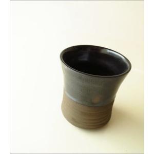 フリーカップ 陶器 湯呑み 湯のみ 焼酎グラス 瀬戸焼 和風 和陶器フリーカップ ドット|gigiliving|02
