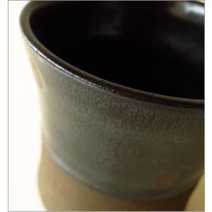 フリーカップ 陶器 湯呑み 湯のみ 焼酎グラス 瀬戸焼 和風 和陶器フリーカップ ドット|gigiliving|04