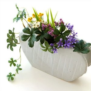 花瓶 花びん 陶器 花器 一輪挿し フラワーベース 花入れ 和雑貨 和小物 瀬戸焼 和陶器ベース ホワイトハート|gigiliving
