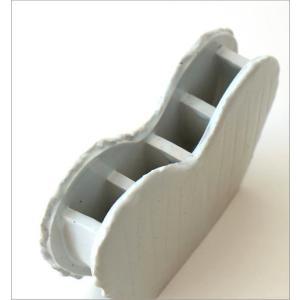 花瓶 花びん 陶器 花器 一輪挿し フラワーベース 花入れ 和雑貨 和小物 瀬戸焼 和陶器ベース ホワイトハート|gigiliving|03