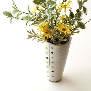 和陶器ベース 花瓶 花びん 六|gigiliving