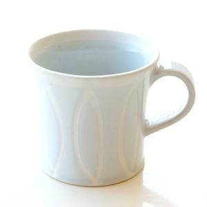 マグカップ ホワイト 白 陶器 日本製 おしゃれ 瀬戸焼 焼き物 シンプル モダン Reiホワイトマグ|gigiliving