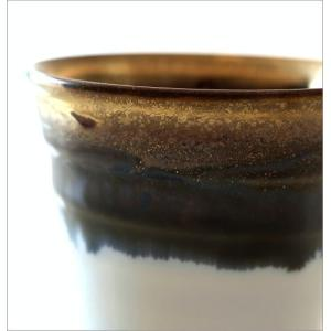 ビアカップ ビールカップ 陶器 有田焼 日本製 墨流し&ゴールドビアカップ|gigiliving|03