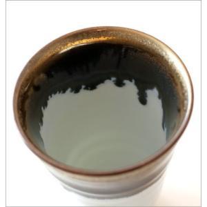 ビアカップ ビールカップ 陶器 有田焼 日本製 墨流し&ゴールドビアカップ|gigiliving|04