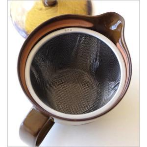 ティーポット 陶器 急須 おしゃれ 和風 和 ナチュラル アンティーク 和食器 焼き物 有田焼 日本製 ビードロ釉レースポット|gigiliving|05