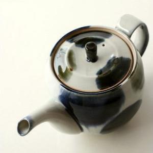 急須 きゅうす ティーポット おしゃれ 陶器 有田焼 日本製 丸流しポット|gigiliving