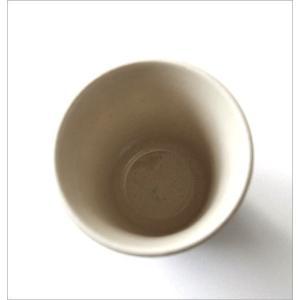 湯のみ茶碗 おしゃれ 有田焼 陶器 湯呑み 湯飲み 焼き物 日本製 アメ釉面取湯のみ|gigiliving|04