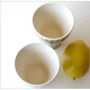 湯のみ おしゃれ 湯呑 湯呑み茶碗 有田焼 一珍レリーフ湯のみ茶碗 2カラー|gigiliving|03
