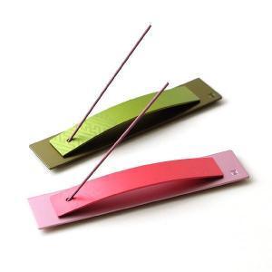 インセンスホルダー お香立て おしゃれ 日本製 和風 モダン かわいい シンプル スティックタイプ インセンススタンド アルミのインセンススタンド2カラー|gigiliving