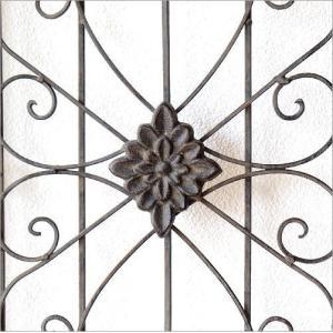 ドア 飾り おしゃれ インテリア 壁飾り 立て掛け アンティーク レトロ シャビー 壁掛け アイアン 木製 飾り窓 クラシック デコウッドのドア飾り|gigiliving|05