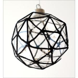 LEDライト ガラス ハンギングライト 吊り下げ 電池式 おしゃれ かわいい 多面体 ガラスのキューブライト|gigiliving|04