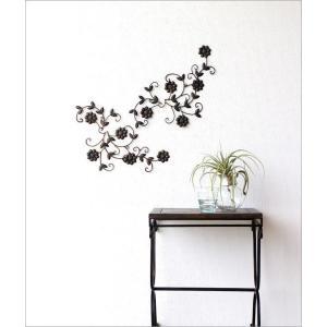 アイアン壁飾り アートパネル 壁掛け インテリア おしゃれ 花 フラワー アイアン壁飾りデージー2セット|gigiliving|02