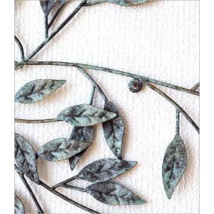 壁飾り アートパネル 木 リーフ ウォールデコ 壁掛け インテリア アイアンの壁飾り ウィンドツリー|gigiliving|03