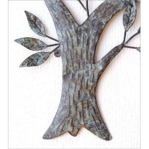 壁飾り アートパネル 木 リーフ ウォールデコ 壁掛け インテリア アイアンの壁飾り ウィンドツリー|gigiliving|04