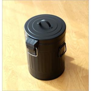 ゴミ箱 ペダル ふた付き おしゃれ 5L ペダルビン スチール 黒 ブラック モダン シンプル 洗面所 ダストボックス ダスト缶 ペダル付きゴミ箱 S|gigiliving|04