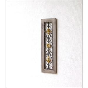 壁飾り アートパネル 壁掛け インテリア アイアンのウォールデコ フレームB|gigiliving|02