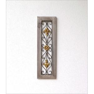 壁飾り アートパネル 壁掛け インテリア アイアンのウォールデコ フレームB|gigiliving|06