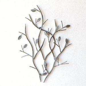 壁飾り アイアン 壁掛け インテリア アンティーク おしゃれ 植物 枝 ウォールデコ ウォールアート 雑貨 ウォールディスプレイ シャビーなツリーブランチ|gigiliving