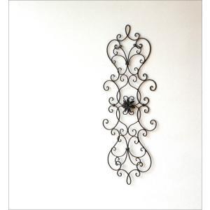 壁飾り アイアン ウォールデコ アートパネル エレガント アンティーク デザイン 壁掛け インテリア フローラルデコ トール|gigiliving|02